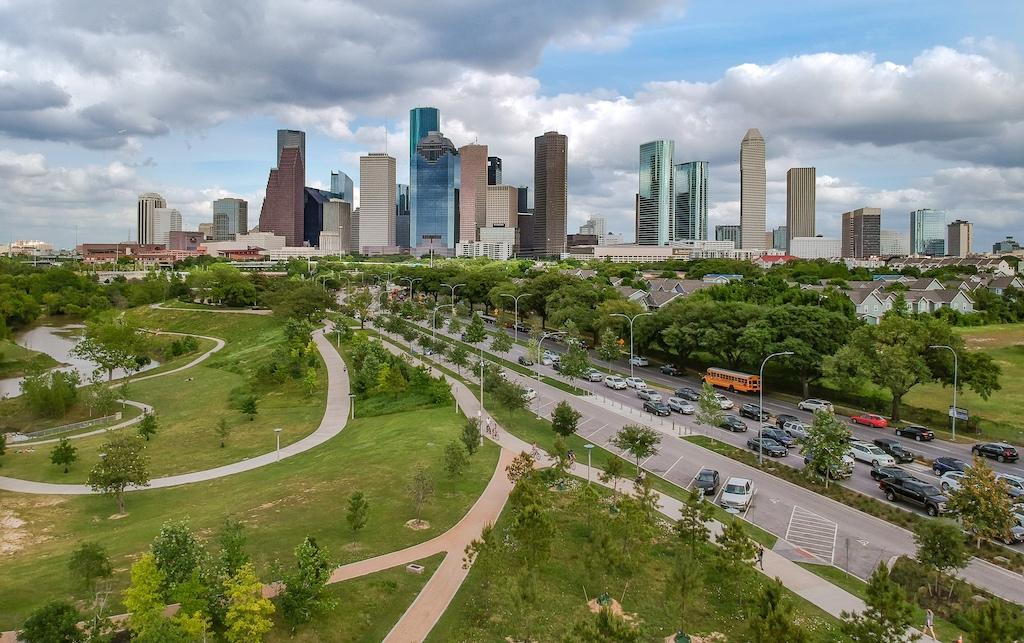 Downtown Houston, Texas USA