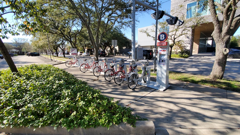 Discovering Houston - BCycle at the  Menil Collection