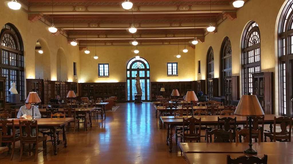 Discovering Houston Texas USA - Julia Ideson Building Houston Public Library