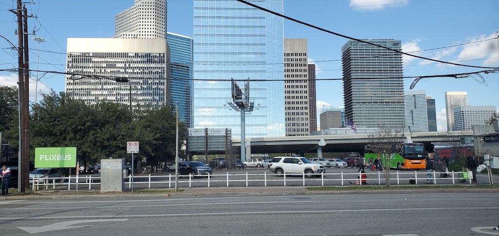 Discovering Houston Texas USA - Flixbus Bus Station Downtown Houston