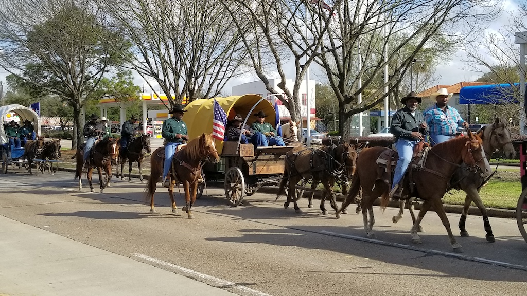 Discovering Houston, Texas USA - Houston Livestock and Rodeo Show Trail Riders
